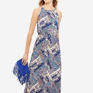 *NWT* The Limited Paisley Print Maxi Dress